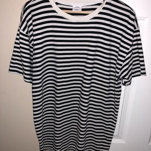 Stripped tee